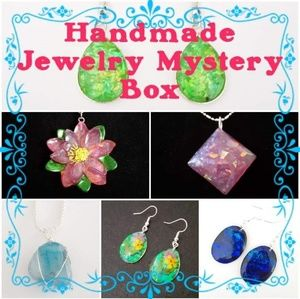 Handmade Jewelry Earrings Necklaces Mystery Box